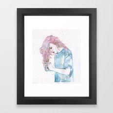 small piece 08 Framed Art Print