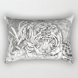 diminishing territory Rectangular Pillow