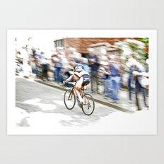 Fast Color  Art Print