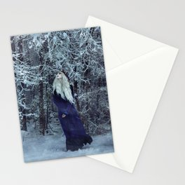 Soft, Silent, and Still Stationery Cards
