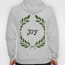 Farmhouse Joy wreath typography Hoody