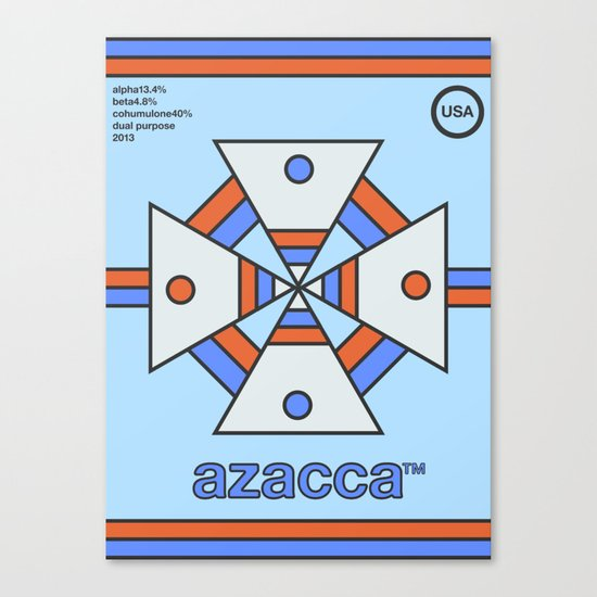 azacca single hop Canvas Print
