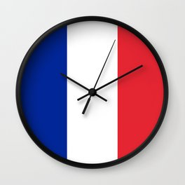 Flag of France, HQ image Wall Clock