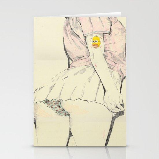 Mr Sparkle Butt Stationery Cards