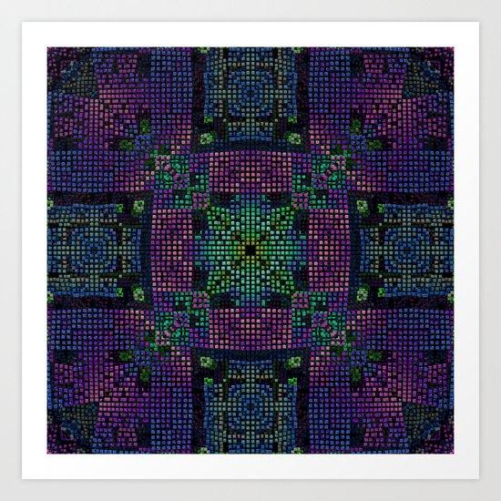 Twilight Mosaic Art Print