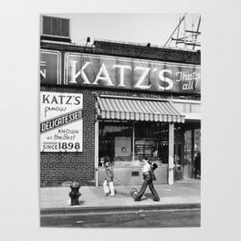 Katzs Deli NYC Poster
