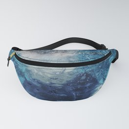 Diffraction swimming pool Fanny Pack