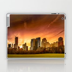 Sunset over Midtown Manhattan Laptop & iPad Skin