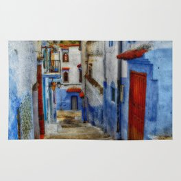 The Alley, Greece Rug