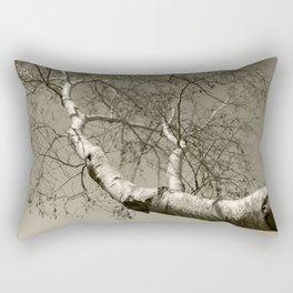Birch tree #01 Rectangular Pillow
