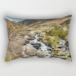 Tryfan and Ogwen Falls Rectangular Pillow