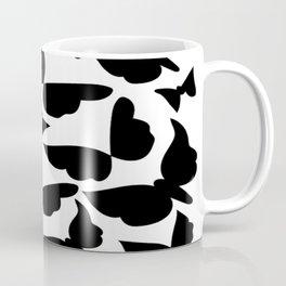"""Butterfly Menagerie Pattern"" Coffee Mug"