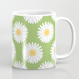Spring Daisies_Greenery Coffee Mug