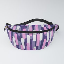Fast Capsules Vertical Violet Fanny Pack