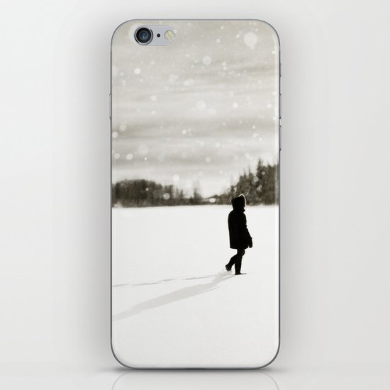 Winter Wandering iPhone & iPod Skin