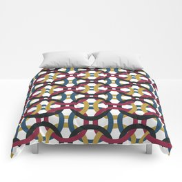 Entanglement of Circles Comforters