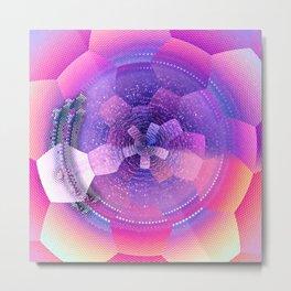 geometrical abstract vb Metal Print