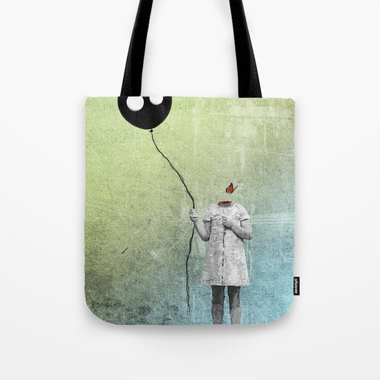 not letting go Tote Bag
