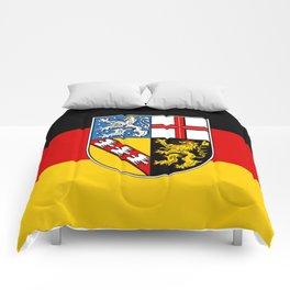 Flag of Saarland -Sarre Comforters