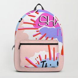 Monday - Shake it Up Backpack