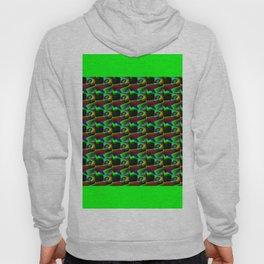 Zig zag pattern Hoody
