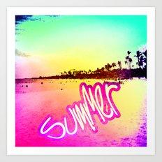 Summer Dreams Art Print