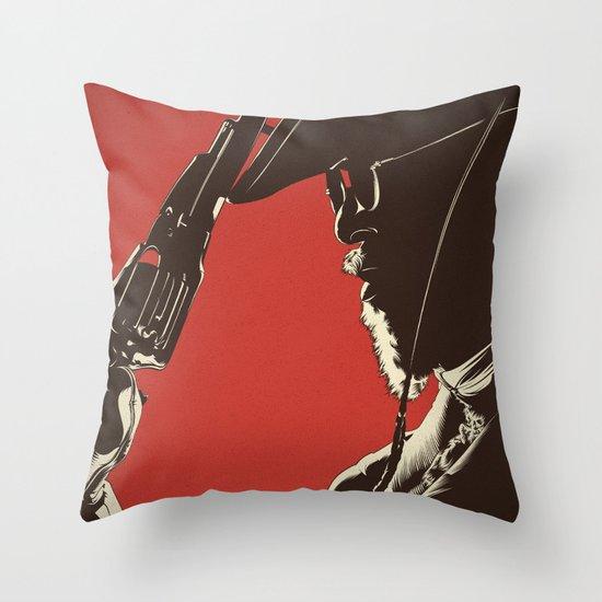 D. U. Throw Pillow