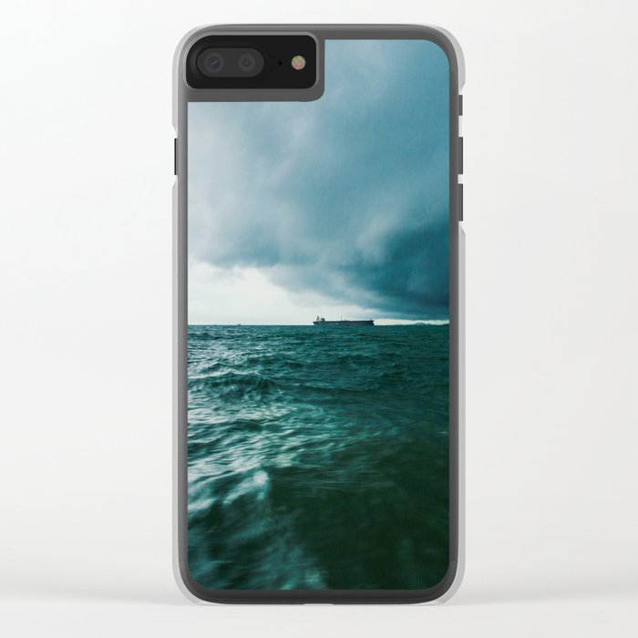 Power of nature Clear iPhone Case