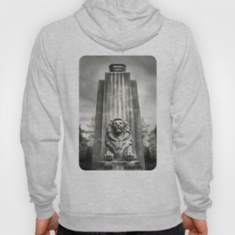 Vancouver Raincity Series - Lion at the Gate - Black and White Hoody
