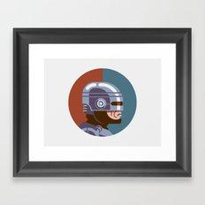 Headgear - Robocop Framed Art Print