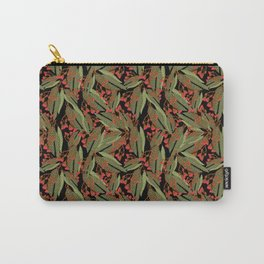 Flowering Gum - Black Carry-All Pouch