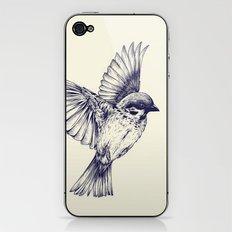 lost bird iPhone & iPod Skin