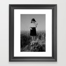 Summer tale Framed Art Print
