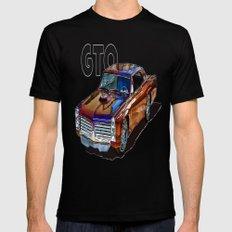 GTO MEDIUM Mens Fitted Tee Black