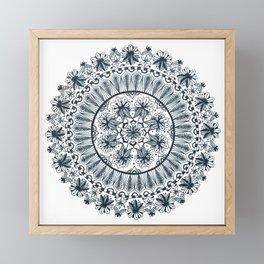 Awaken Nature Mandala Framed Mini Art Print