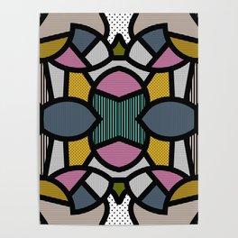 PopArt Tile 2 Poster