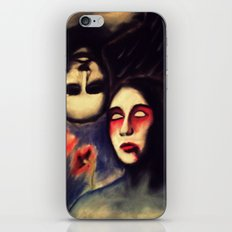 LOVE IS BLINDNESS iPhone & iPod Skin