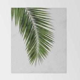Palm Leaf I Throw Blanket