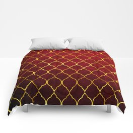 Moroccan Tile islamic pattern #society6 #decor #buyart #artprint Comforters