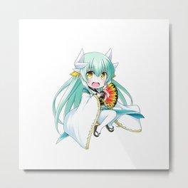 Fate/Grand Order Kiyohime Metal Print