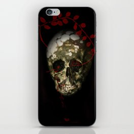 skull#01 iPhone Skin