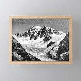 Existing Alpine Glacier Framed Mini Art Print