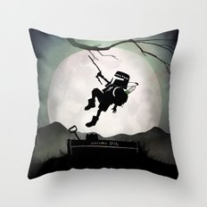 Fett Kid Throw Pillow