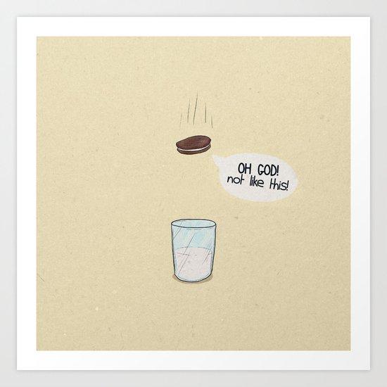 a biscuit's journey Art Print