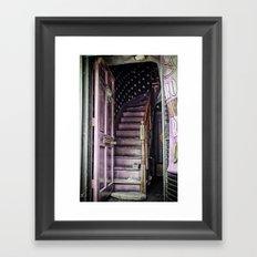 Salem Stairs Framed Art Print