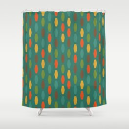 Colima - Teal Shower Curtain