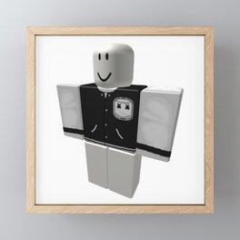 Marshmello - Varsity Framed Mini Art Print