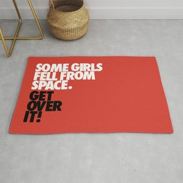 Some Girls Fell From Space Rug