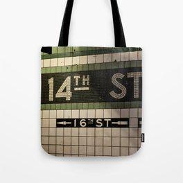 14th Street Station Tote Bag