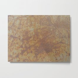 Rusted Metal Sheet Metal Print